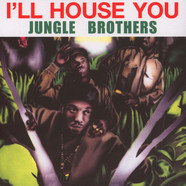 Jungle Brothers - I'll House You / On The Run Clear Vinyl Edition