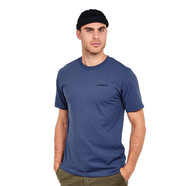 Patagonia - Line Logo Badge Cotton Poly Responsibili-Tee