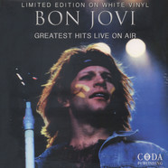 Bon Jovi - Greatest Hits Live On Air White Vinyl Edition