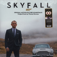 Thomas Newman - OST Skyfall Red & White Splattered Vinyl 3D Pop-Up Gatefold Sleeve Edition