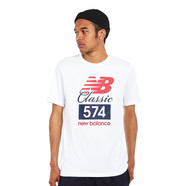 New Balance - MT81543 WT Tee