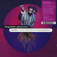 Digable Planets - Reachin' (A New Refutation of Time and Space) - 25th Anniversary Edition Black Vinyl Edition