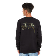 Stüssy - Camo Stock Crew Sweater