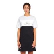 Fred Perry - Embroidered Panel T-Shirt Dress