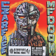 Czarface (Inspectah Deck & 7L & Esoteric) & MF Doom - Czarface Meets Metal Face Black Vinyl Edition