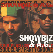 Showbiz & AG - Soul Clap / Party Groove Instrumental Black Vinyl Edition