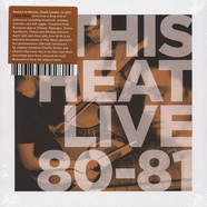 This Heat - Live 80 - 81