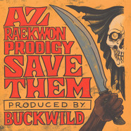 AZ / Reakwon / Prodigy - Save Them Red Vinyl Edition