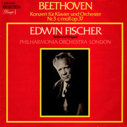 Ludwig van Beethoven Edwin Fischer Solist and Conductor Philharmonia Orchestra - Konzert Fur Klavier Und Orchestr Nr. 3 C-mall, Op. 37