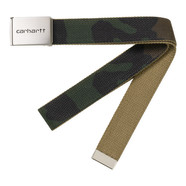 Carhartt WIP - Clip Belt Chrome