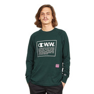 Champion Reverse Weave x Wood Wood - Logo Long Sleeve
