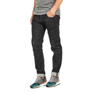 Edwin - ED-55 Regular Tapered Jeans CS Red Listed Black Denim, 12.75 oz