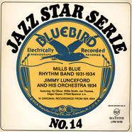 The Mills Blue Rhythm BandJimmie Lunceford And His Orchestra - 15 Original Recordings From 1931-1934