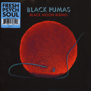 Black Pumas - Black Moon Rising / Fire Colored Vinyl Version