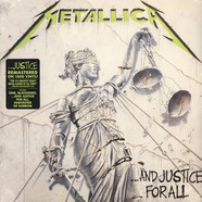 Metallica - And Justice For All Remastered 180g Vinyl