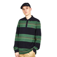 Fred Perry - Panelled Stripe Pique Shirt