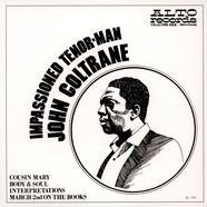 John Coltrane - Impassioned Tenor-man