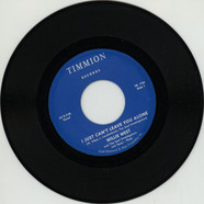 Willie West & The Soul Investigators - I Just Can't Leave You Alone Feat. Jimi Tenor