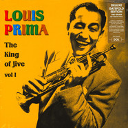 Louis Prima - The King Of Jive Volume 1 Gatefold Sleeve Edition