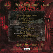 Jamal Gasol - It's A Dirty Game Red & Black Marbeled Color Vinyl Edition