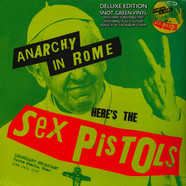 Sex Pistols - Anarchy In Rome With Turntable Mat