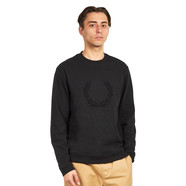 Fred Perry - Textured Laurel Wreath Sweatshirt
