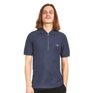 Fred Perry - Zip Neck Pique Shirt