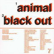 Nots - Animal / Black Out