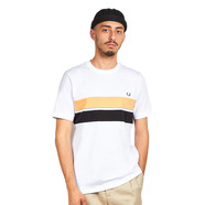 Fred Perry - Striped Chest Panel T-Shirt