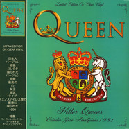 Queen - Killer Queens - Estadio Jose Amalfitani 1981 Part 1 Clear Vinyl Edition