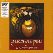 Emerson, Lake & Palmer - Live At Pocono International Raceway, Long Pond, Pa, U.S.A., 9th July 1972 Record Store Day 2019 Edition