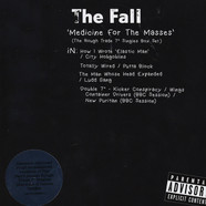 Fall, The - Medicine For The Masses 'The Rough Trade 7