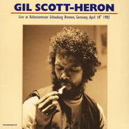 Gil Scott-Heron - Live At Kulturzentrum Schauburg 1983