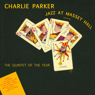 Charlie Parker - Jazz At Massey Hall - Limited Edition In Solid Yellow Colored Vinyl.