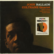 John Coltrane Quartet - Ballad Solid Orange Vinyl Edition