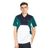 Lacoste - Men Short Sleeved Ribbed Collar Shirt