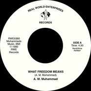 A.M. Muhammad - What Freedom Means / Tenderly