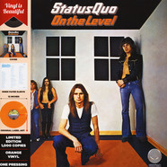 Status Quo - On The Level Orange Vinyl Edition