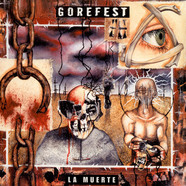 Gorefest - La Muerte Orange With White/Red Splatter Vinyl Edition