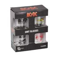 AC/DC - Shot Glasses Set Of 4