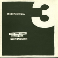 LCD Soundsystem - 45:33 Remixes By: Padded Cell, Prince Language