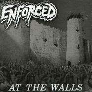 Enforced - At The Walls Clear With Black Smoke Vinyl Edition