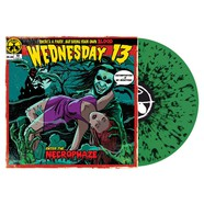 Wednesday 13 - Necrophaze Green / Black Splatter Vinyl Edition