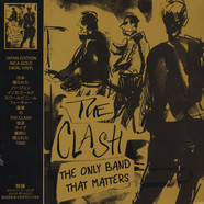 Clash, The - The Only Band That Matters Incagold Vinyl Edition