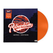 Skyzoo & Pete Rock - Retropolitan HHV Exclusive Transclucent Orange Vinyl Edition