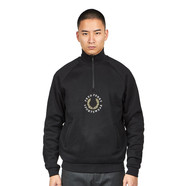 Fred Perry - Half Zip Pique Sweatshirt
