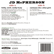 JD McPherson - Holly, Carol, Candy & Joy / Red Bows Colored Vinyl Ediiton