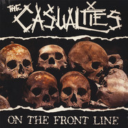 Casualties, The - On The Front Line Splatter Sawblade Vinyl Edition