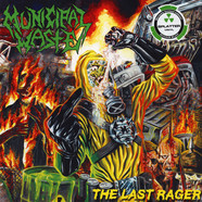 Municipal Waste - The Last Rager Orange / Red Splatter Vinyl Edition