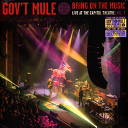 Gov't Mule - Bring On The Music - Live At The Capitol Theatre: Volume 3 Black Friday Record Store Day 2019 Edition